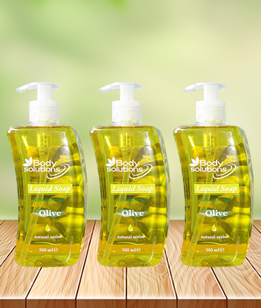 LIQUID SOAP WITH OLIVE OIL 500ML